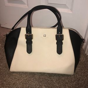 Kate Spade Two Toned Leather Satchel